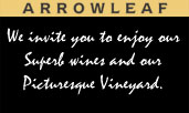 Arrowleaaf winery and picnic grounds