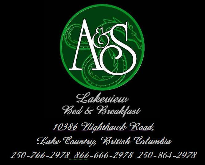 AandS Lakeview Bed and Breakfast - More information about us